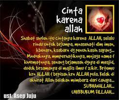 Cinta Karena Allah Islam Itu Indah
