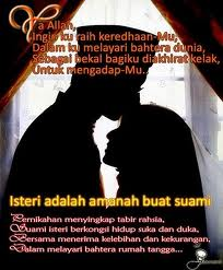 Istri Shalihah Penyejuk Hati Islam Itu Indah